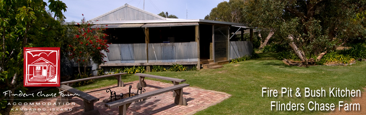 Flinders Chase Fire Pit & Lodge Kitchen